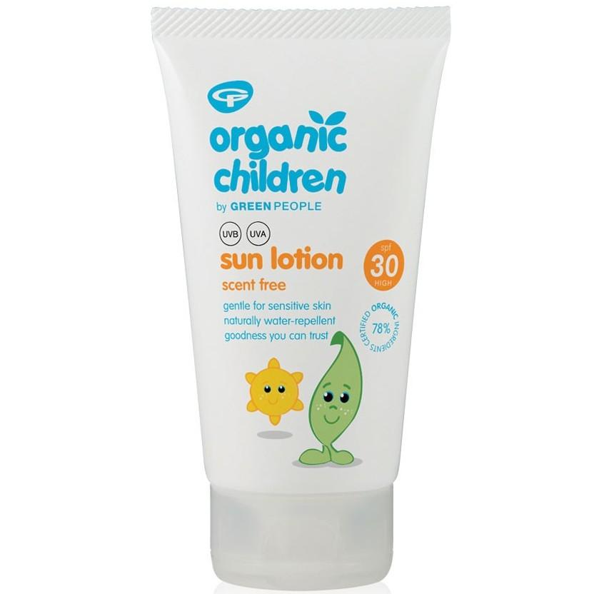 Organic Children sun lotion