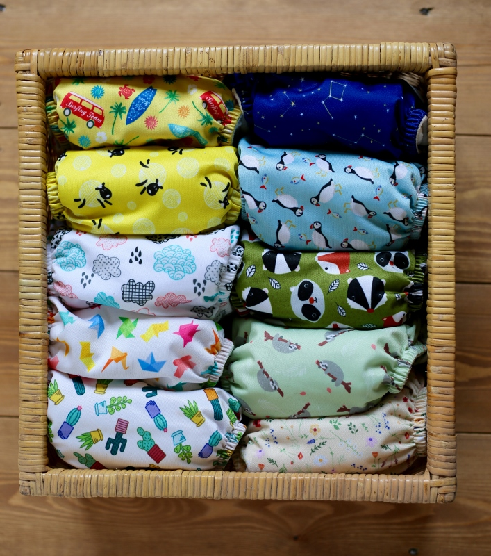Baba & Boo cloth nappies