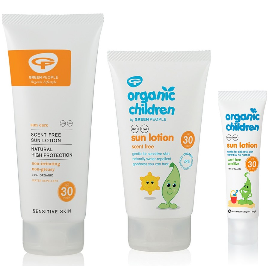Green People Reef Safe sun lotion