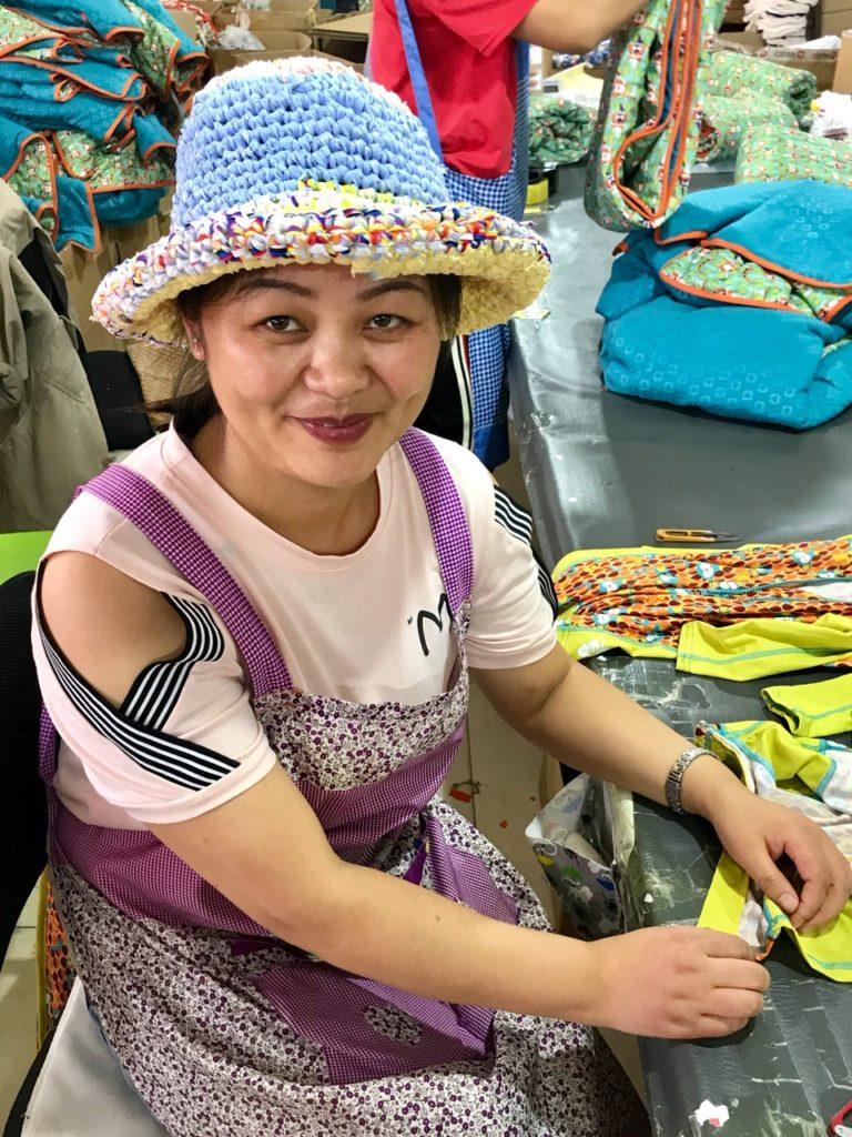 Hat fabric off cuts Close Parent Nappies