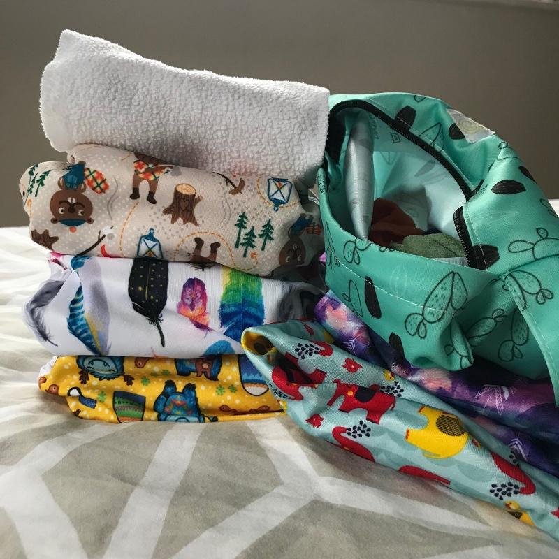 Milovia nappies ready for childcare