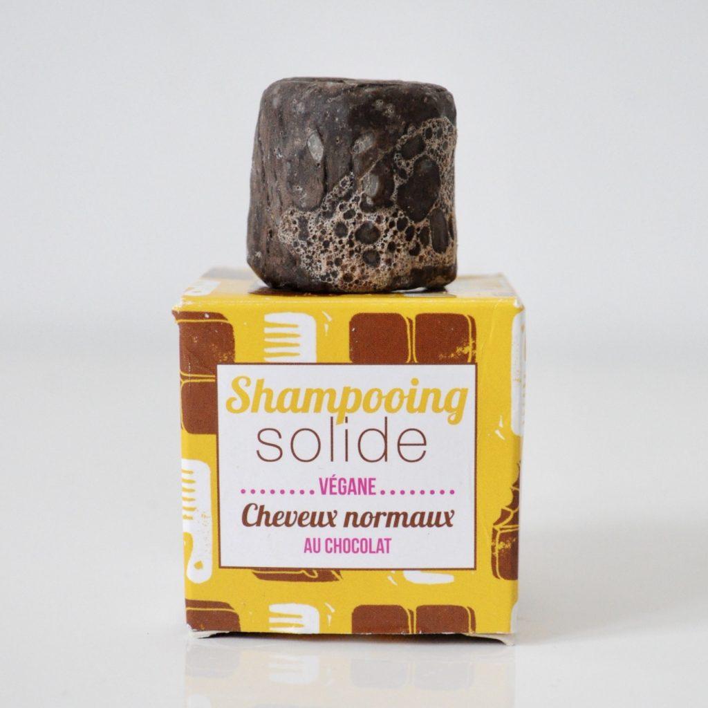Lamazuna solid shampoo- chocolate