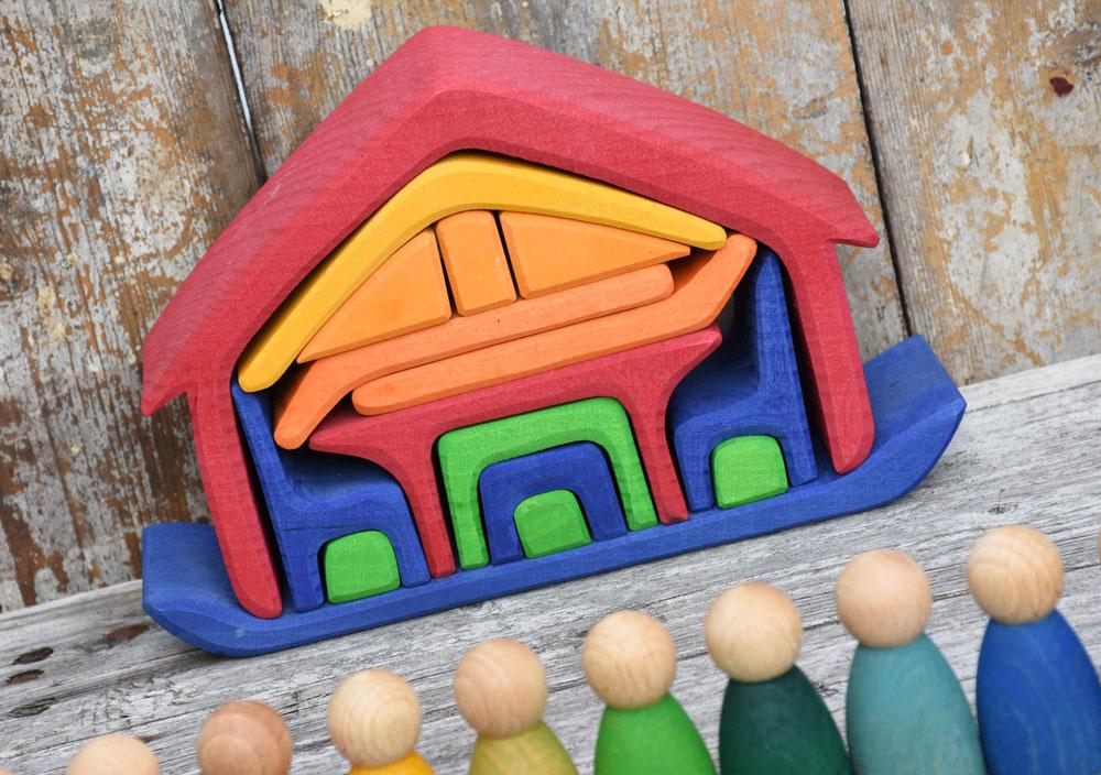 Gluckskafer All-in Rainbow House