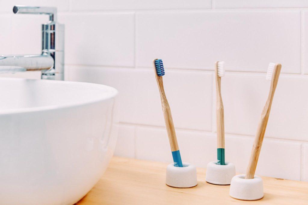 Zero Waste bamboo toothbrushes