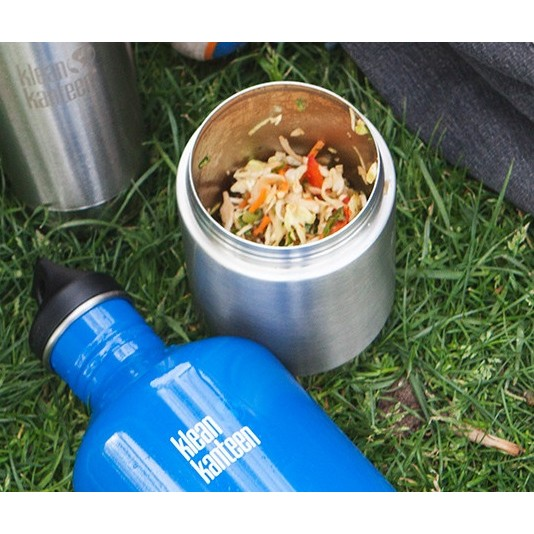 Stainless steel insulated food canister