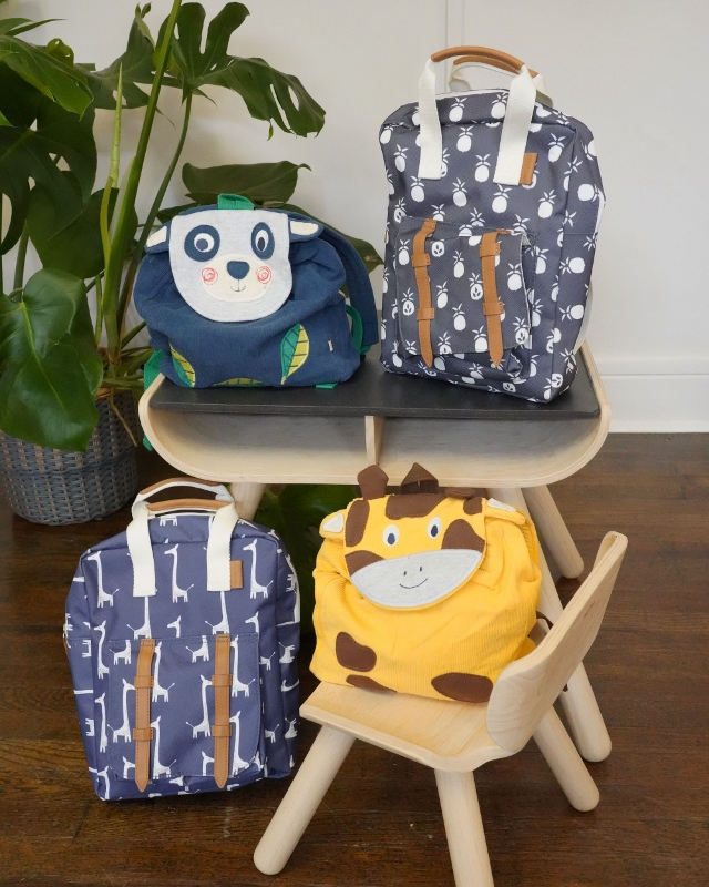 Frugi and Fresk backpacks