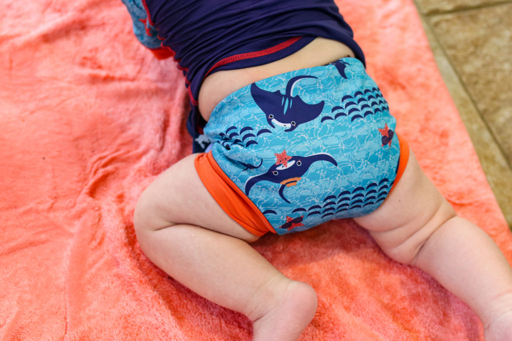 close swimwear Mantaray swim nappy