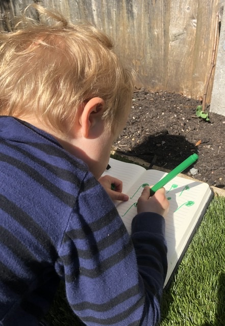 Learning in the garden
