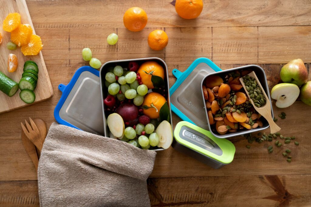 Klean Kanteen Lunch Boxes are ideal for school packed lunches