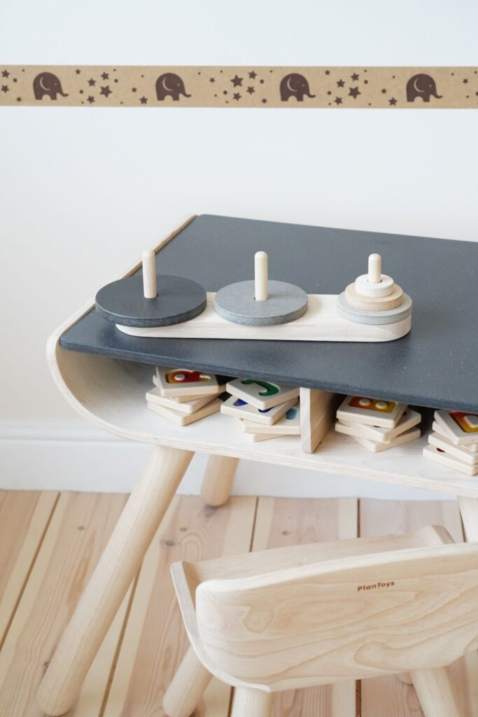Plan Toys Desk for a Montessori setting