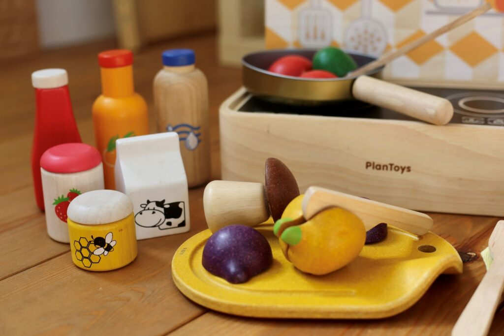 Plan Toys kitchen role play