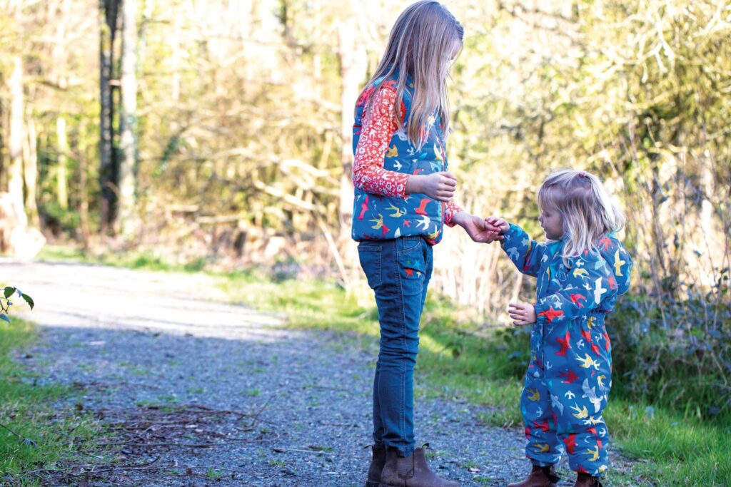 Frugi Gilet and Waterproof All in One