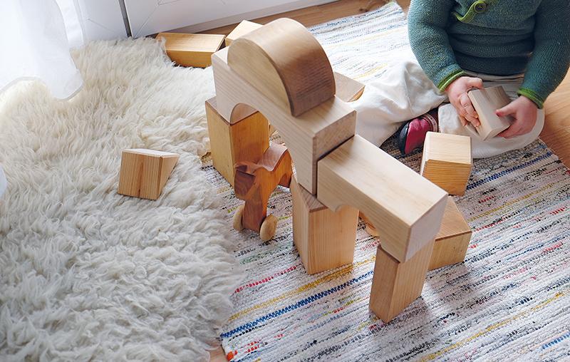 Grimm's Giant Natural Wooden Building Blocks