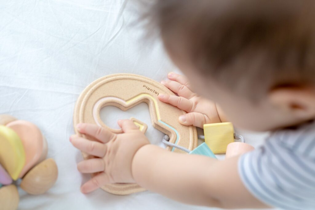 Plan Toys Shape Sorter is one of our  a best gift for babies