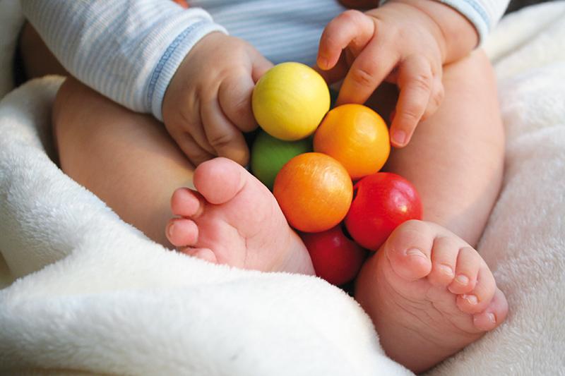Grimm's Rainbow Beads Grasper Baby Gift for Christmas