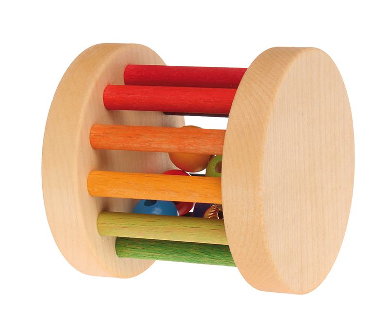 Grimm's Mini Rolling Rainbow Wheel a perfect gift for babies